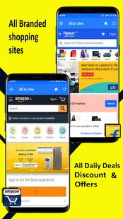Screenshots - Social Browser:- All Social Media & Shopping Apps