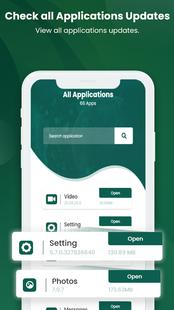 Screenshots - Software Update: fast apps update