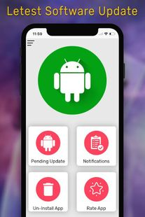Screenshots - Software Update for Android