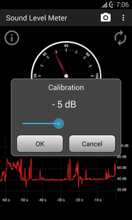 Screenshots - Sound Level Meter