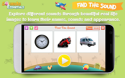 Screenshots - Sounds Essentials - Learn and Identify Sounds