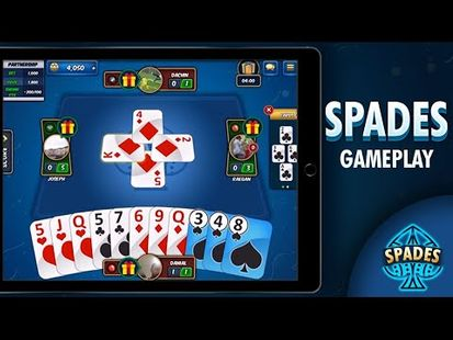 Video Image - Spades Online - Free Multiplayer Card Games