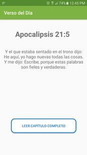 Screenshots - Spanish Bible Reina Valera