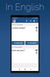 Screenshots - Spanish English Translator