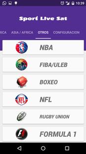 Screenshots - Sport Live Sat