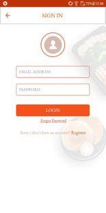 Screenshots - SpotnEats – Customer App