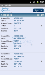 Screenshots - SRE Mobile