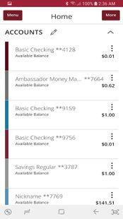 Screenshots - Stanford FCU Mobile Banking