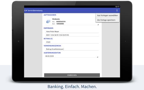Screenshots - StarMoney - Banking + Kontenübersicht