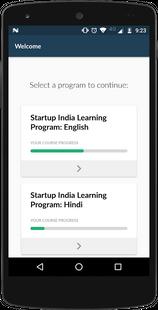 Screenshots - Startup India Learning Program
