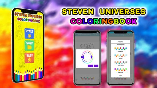 Screenshots - Steven Universes coloringbook new 2020