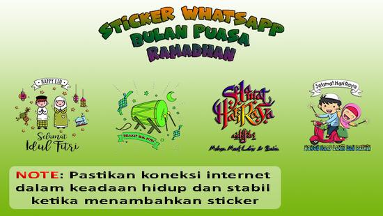 Screenshots - Sticker WA Bulan Puasa Ramadhan