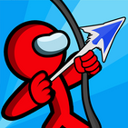 Stickman Archer Warrior: Bow And Arrow Shooting
