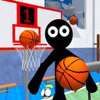 Stickman Neighbor. Basketball Basics Teacher 3D