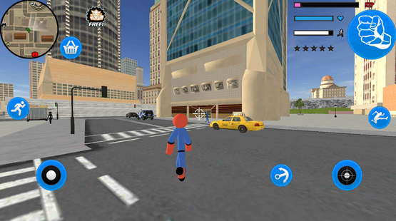 Screenshots - Stickman Spider Rope Hero City Gangstar Crime