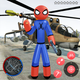 Stickman Spider Rope Hero City Gangstar Crime