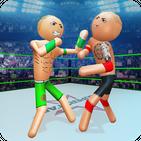Stickman wrestling Fight arena: Fighting Game