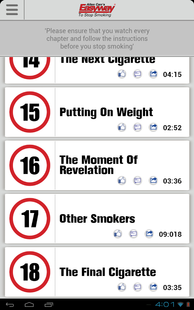 Screenshots - Stop Smoking with Allen Carr