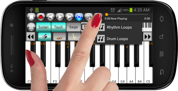 Screenshots - Strings And Piano Keyboard Pro
