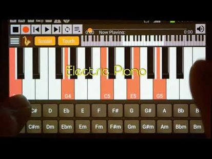 Video Image - Strings And Piano Keyboard Pro