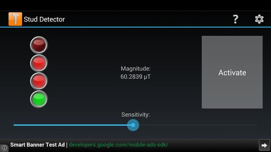 Screenshots - Stud Detector