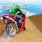 Stunt Bike Mega Ramp Grand City