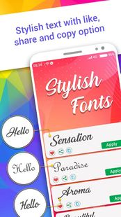 Screenshots - Stylish Fonts Free, Text Repeater & Chat Styles