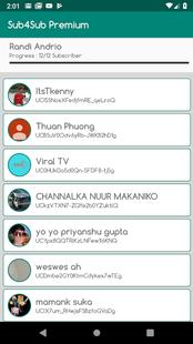 Screenshots - Sub4Sub Pro