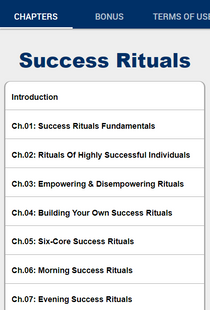 Screenshots - Success Rituals