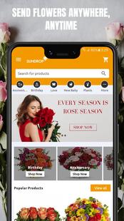Screenshots - SunDrop Flower Delivery
