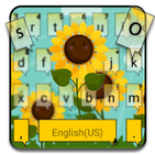 Sunflower Field Keyboard Theme