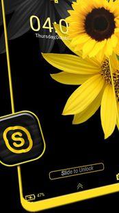 Screenshots - Sunflower Launcher Theme