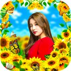 Sunflower Photo Frame