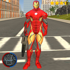 Super Iron Rope Hero - Vegas Fighting Crime