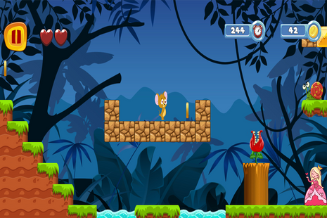 Screenshots - super jerry jungle world - adventure games
