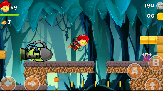 Screenshots - Super Orange Adventure Jungle 1