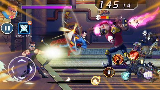 Screenshots - Superhero Back - Fight for Revengers