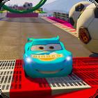 Superhero car racing: extreme speed stunts
