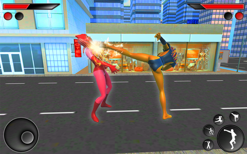 Screenshots - Superhero Girl: Amazing Women Wrestling & Fighting