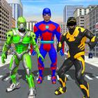 Superhero Robot Family Simulator