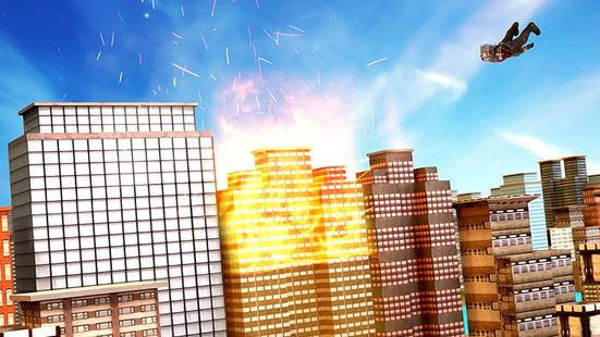 Screenshots - Superhero : Rope Hero Super Light Speed Robot