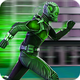 Superhero : Rope Hero Super Light Speed Robot