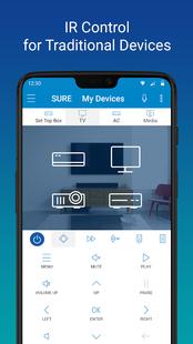 Screenshots - SURE - Smart Home and TV Universal Remote