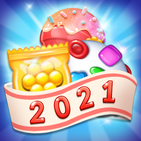 Sweet Candy Bomb: Crush & Pop Match 3 Puzzle Game