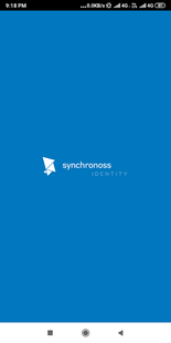 Screenshots - Synchronoss id3 Authenticator