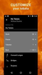 Screenshots - Tabata HIIT. Interval Timer