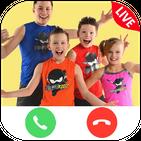 Talk To Ninja Kidz - Call and chat Simulator
