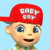 Talking baby boy. Talking game 3D for kids.
