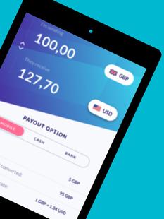 Screenshots - TalkRemit - Transfer & Receive Money Online