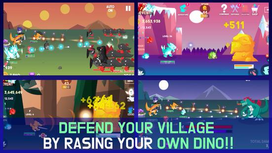 Screenshots - Tap Tap Dino : Grow my dino ( Idle & Clicker RPG )